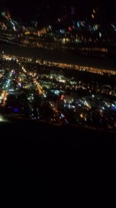 Night Flight home over South Beach at 500ft